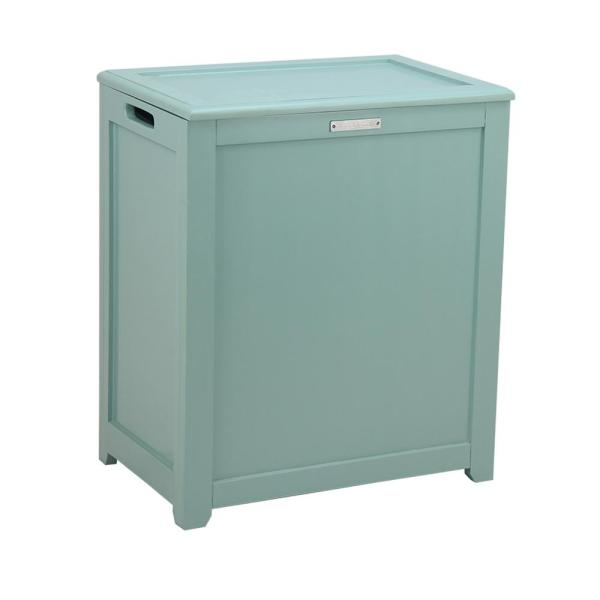 Storage Laundry Hamper in Turquoise