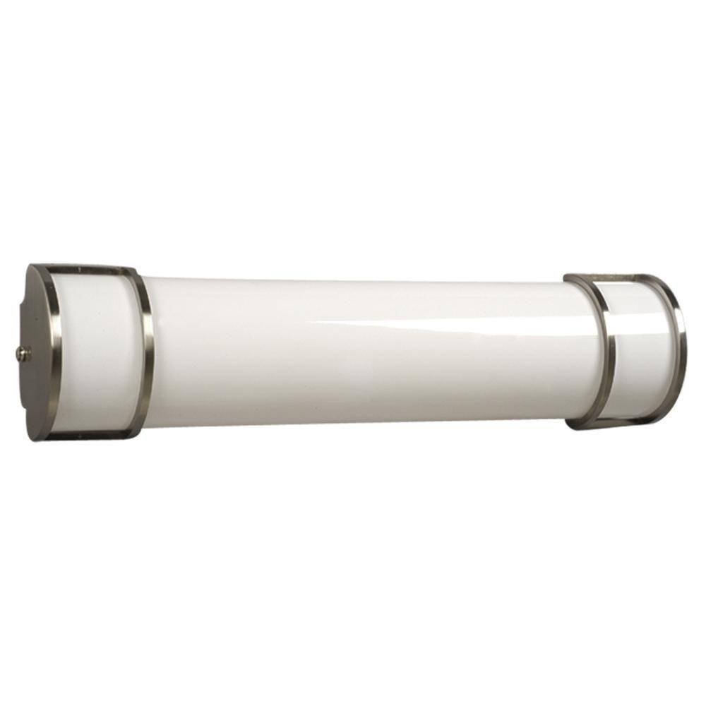 Filament Design Negron 2 Light Brushed Nickel Fluorescent Bath Vanity Light Cli Xy5242380 The