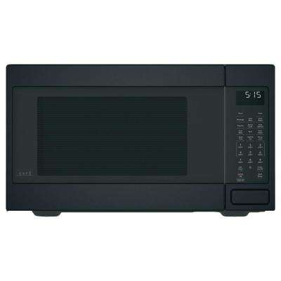1.5 cu. ft. Countertop Convection Microwave with Sensor Cooking in Matte Black, Fingerprint Resistant