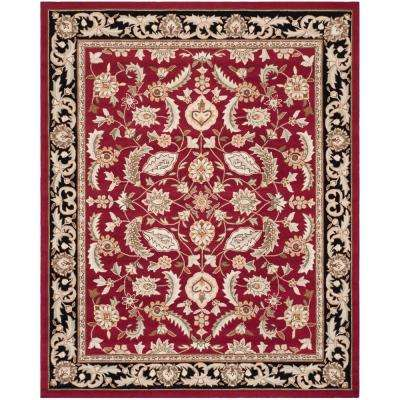 Easy Care Red 9 Ft X 12 Area Rug