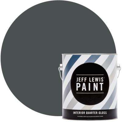 1 gal. #516 Seaweed Quarter-Gloss Interior Paint
