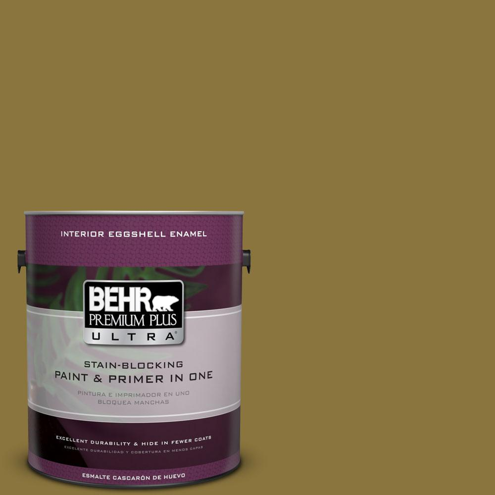 BEHR Premium Plus Ultra 1-gal. #M310-7 Valley Vineyards Eggshell Enamel Interior Paint