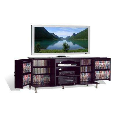 Plasma Black Entertainment Center