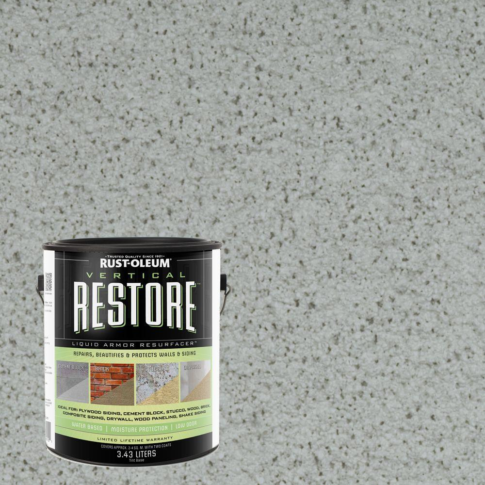 Rust-Oleum Restore 1-gal. Blue Sky Vertical Liquid Armor Resurfacer for Walls and Siding