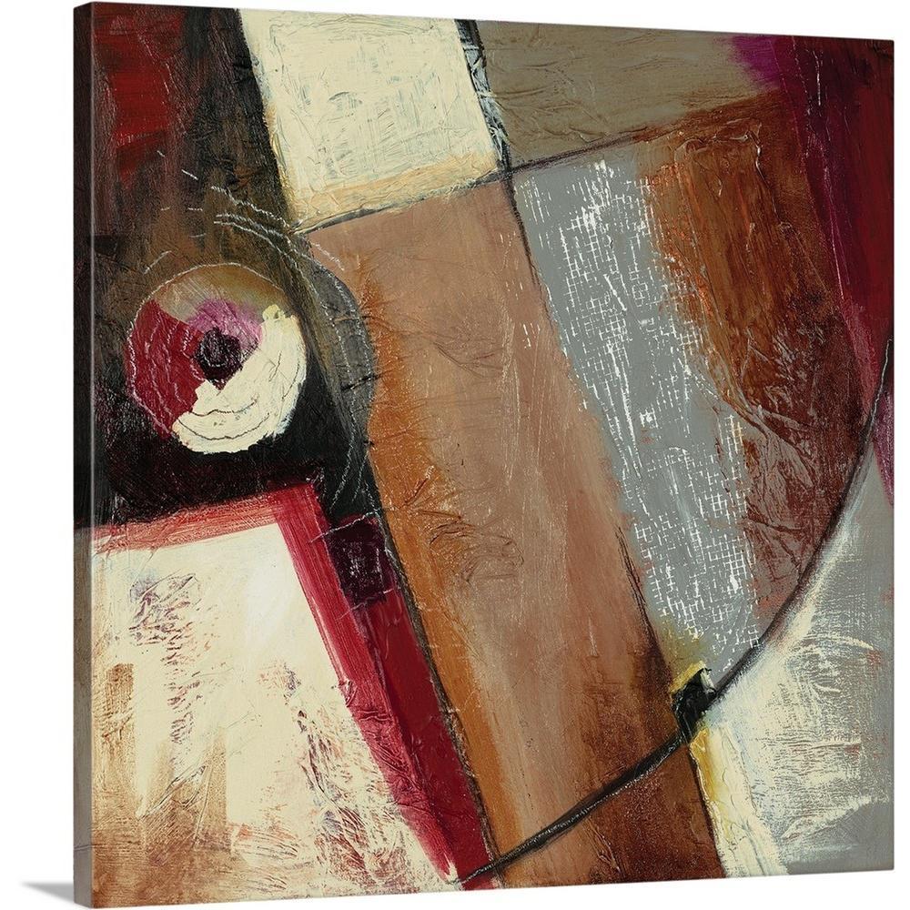 GreatBigCanvas ''Circle II'' by Ross Adams Canvas Wall Art 2433441_24_24x24
