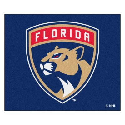 Florida Panthers 5 ft. x 6 ft. Tailgater Rug
