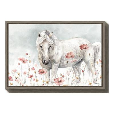 """Wild Horses II"" by Lisa Audit Framed Canvas Wall Art"