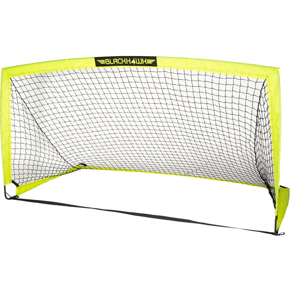 6 ft. x 3 ft. Fiberglass Blackhawk Goal