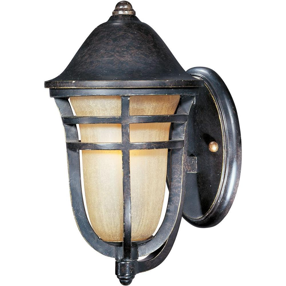 Maxim Lighting Westport Vx 1 Light Artesian Bronze Outdoor Wall Lantern Sconce