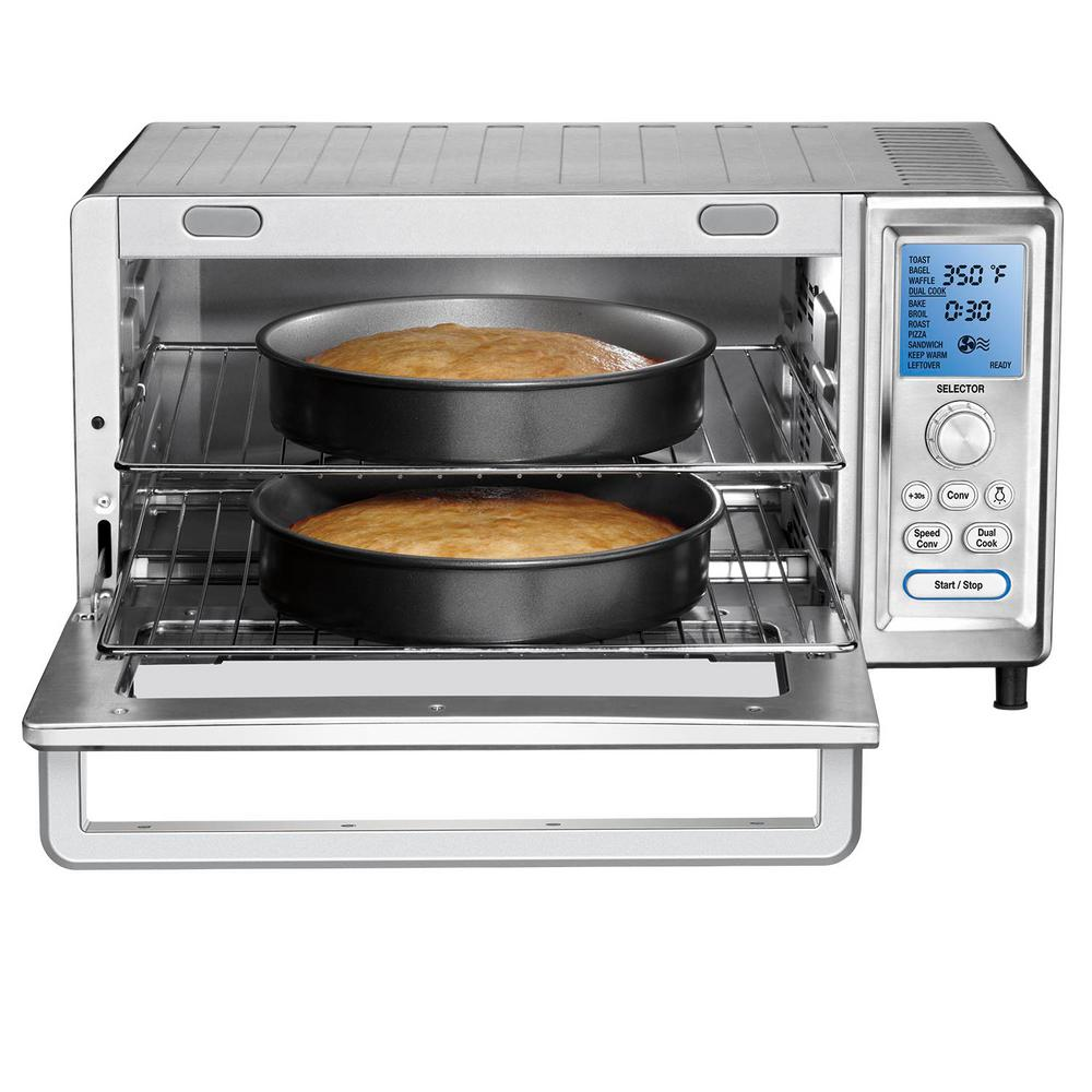 Cuisinart 1800 W 9-Slice Stainless Steel Toaster Oven with