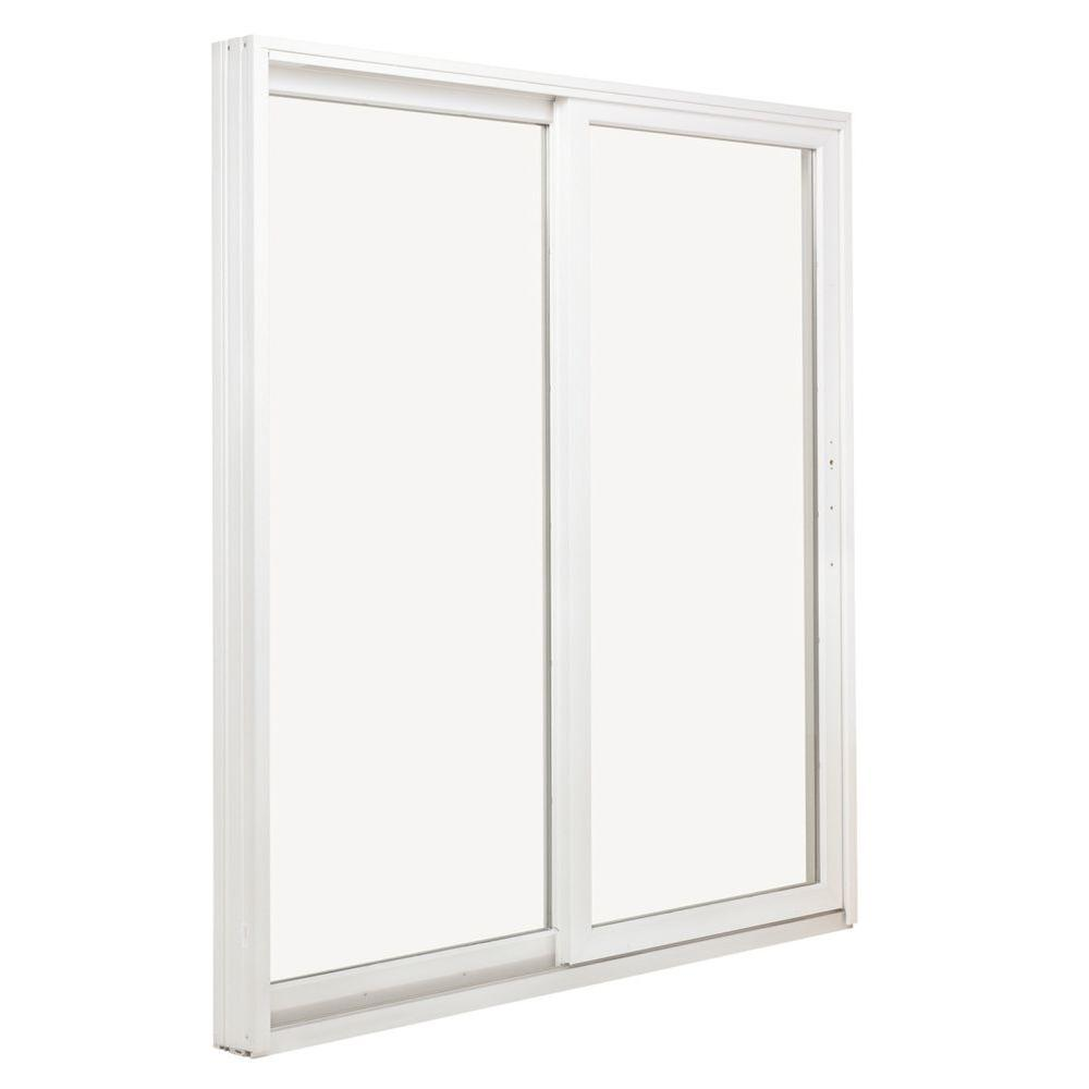 Andersen 72 In X 80 In 200 Series Perma Shield Wood Sliding Patio Door In White Right Hand