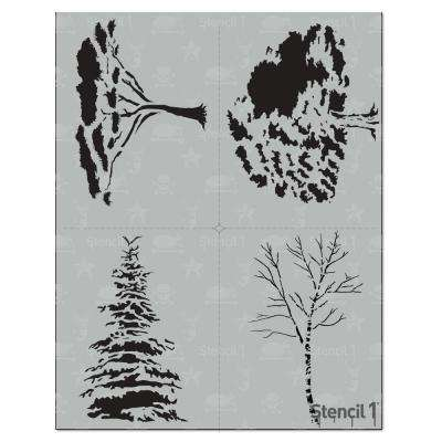Trees Stencil (4-Pack)
