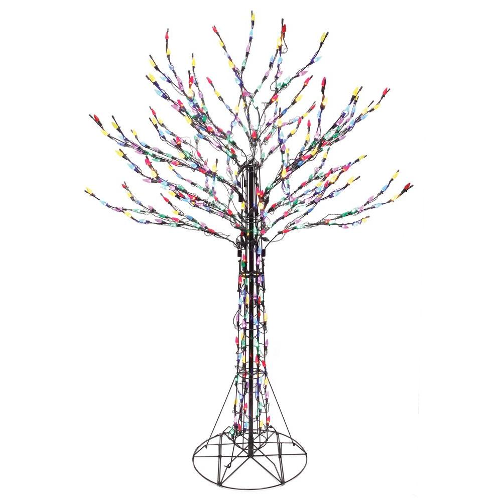 Home Accents Holiday 6 Ft. LED Deciduous Tree Sculpture