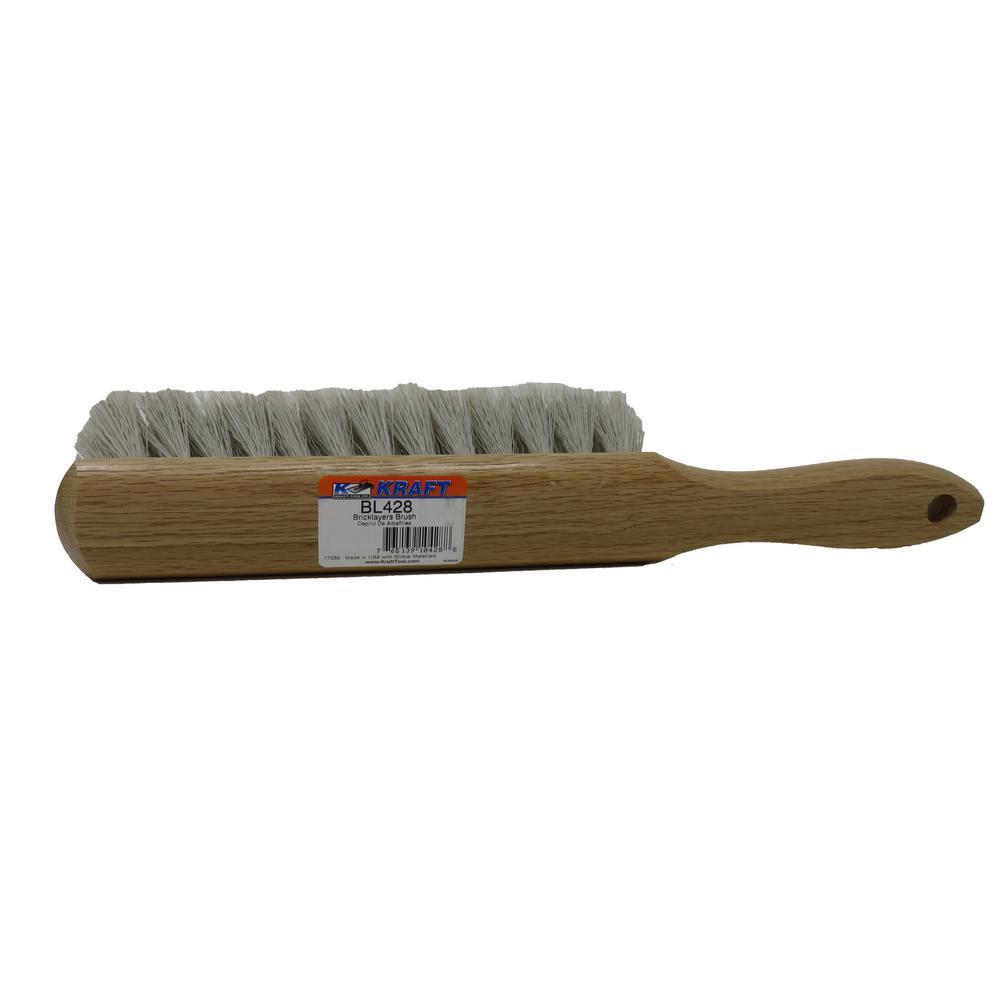 13 in. Medium Gray Flagg Bricklayer's Brush