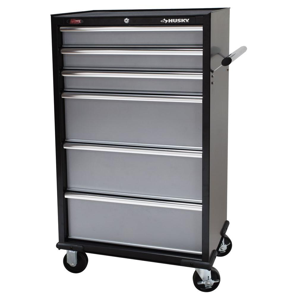 Husky 27 in. 6-Drawer Tool Tower