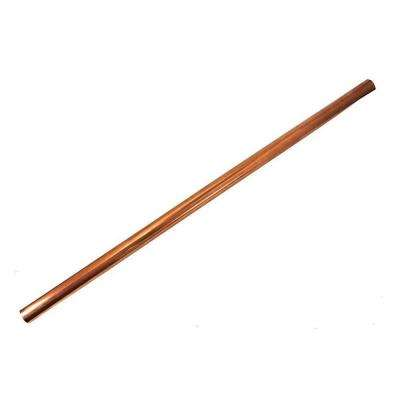 1/4 in. O.D. x 2 ft. Copper Utility Soft Straight Pipe