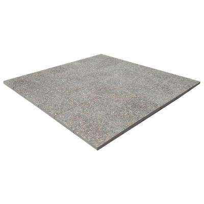 6 ft. x 6 ft. Square Exposed Aggregate Step Stone Patio-on-a-pallet (36 Pieces per Pallet)