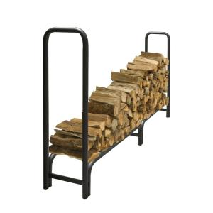 Pleasant Hearth 8 ft. Heavy Duty Firewood Rack with 25-Year Limited Warranty by Pleasant Hearth