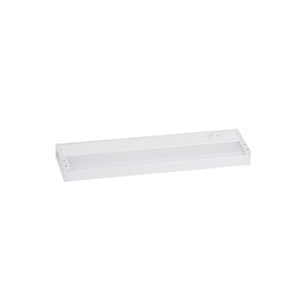 Led 15 Watt 12 Inch Linkable Undercabinet Strip Light: Sea Gull Lighting Vivid LED 12 In. LED 3000K White Under