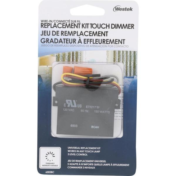 [DVZP_7254]   Westek Indoor Wire-In 3-Level Touch Dimmer Replacement-6503BC - The Home  Depot | Westek Touchtronic 6503h Wiring Diagram |  | The Home Depot