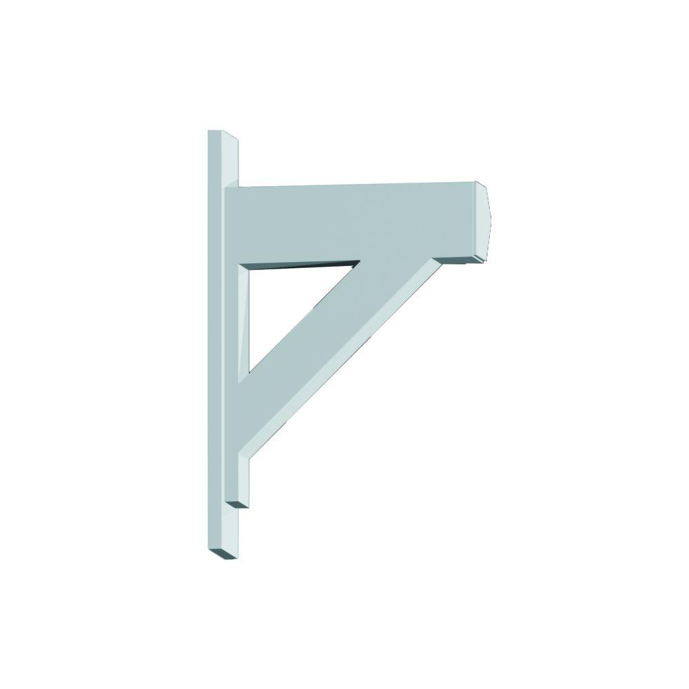 Fypon 20 in x 5 1 2 in x 30 in polyurethane bracket for Fypon beams