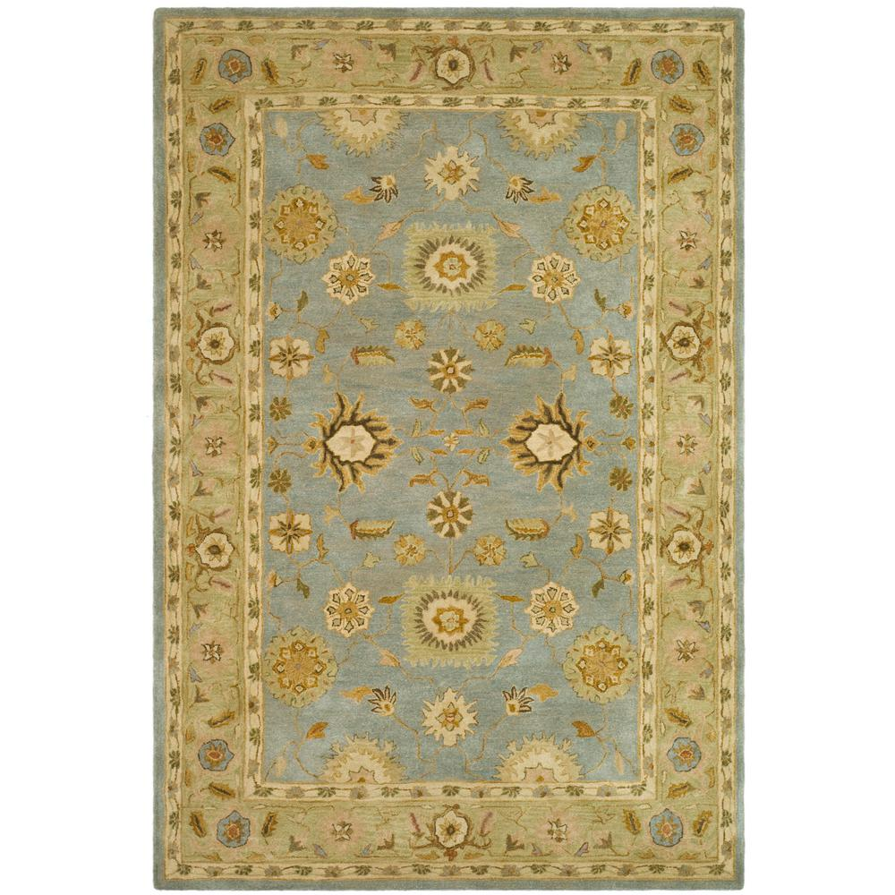 Anatolia Light Blue/Sage 8 ft. x 10 ft. Area Rug