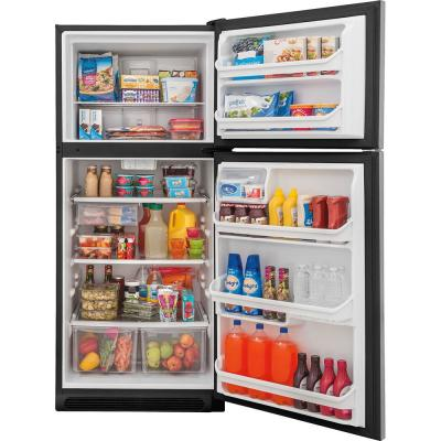 20.4 cu. ft. Top Freezer Refrigerator in Stainless Steel