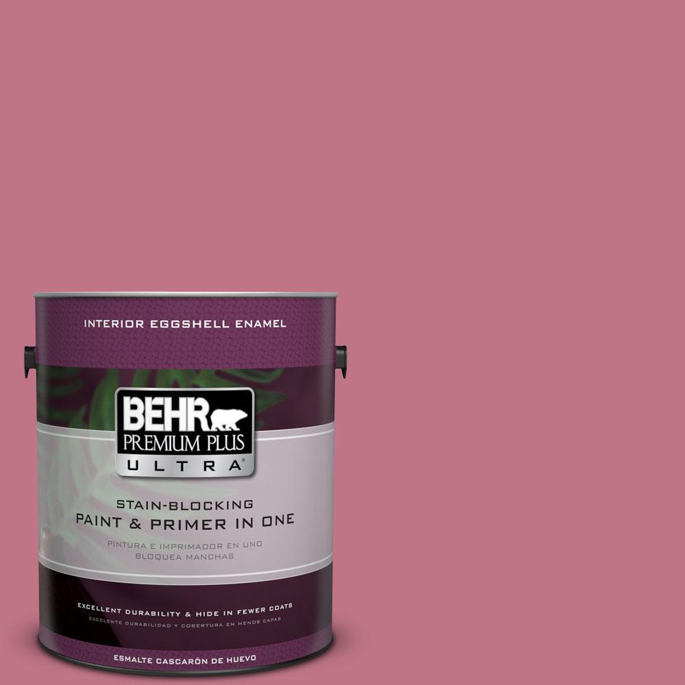 BEHR Premium Plus Ultra 1-gal. #110D-4 Rosily Eggshell Enamel Interior Paint