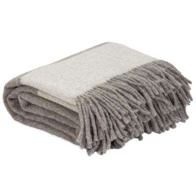 Platinum 100% Australian Wool Throw