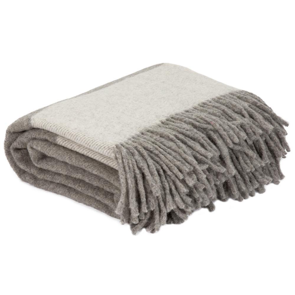 Platinum 100% Australian Wool Throw