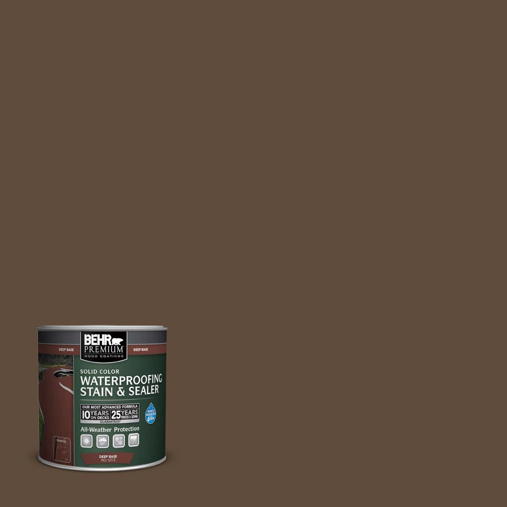 Behr premium 8 oz sc 141 tugboat solid color waterproofing stain behr premium 8 oz sc 141 tugboat solid color waterproofing stain and sealer sample 501316 the home depot nvjuhfo Image collections