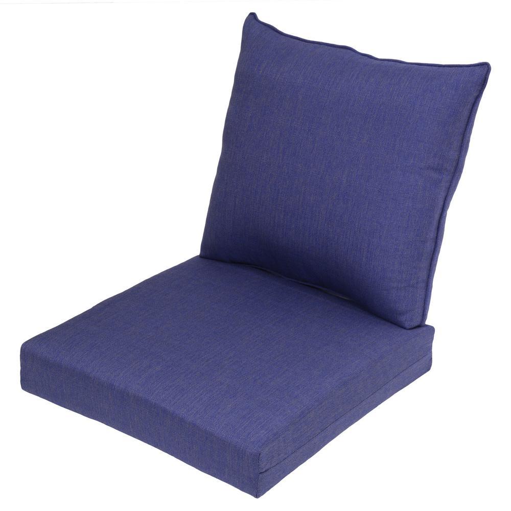 Sky 2 Piece Deep Seating Outdoor Lounge Chair Cushion
