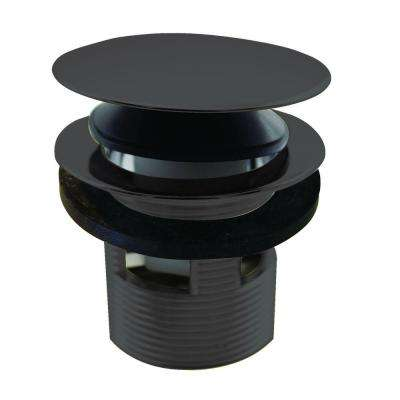 1-1/2 in. NPSM Integrated Overflow Round Tip-Toe Bath Drain in Oil Rubbed Bronze