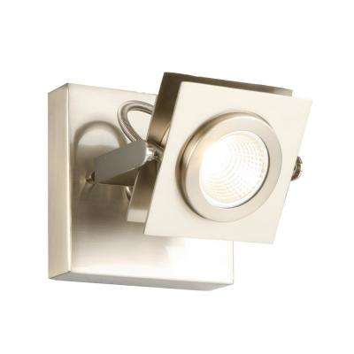Otero 1-Light Brushed Nickel Direct Track Light