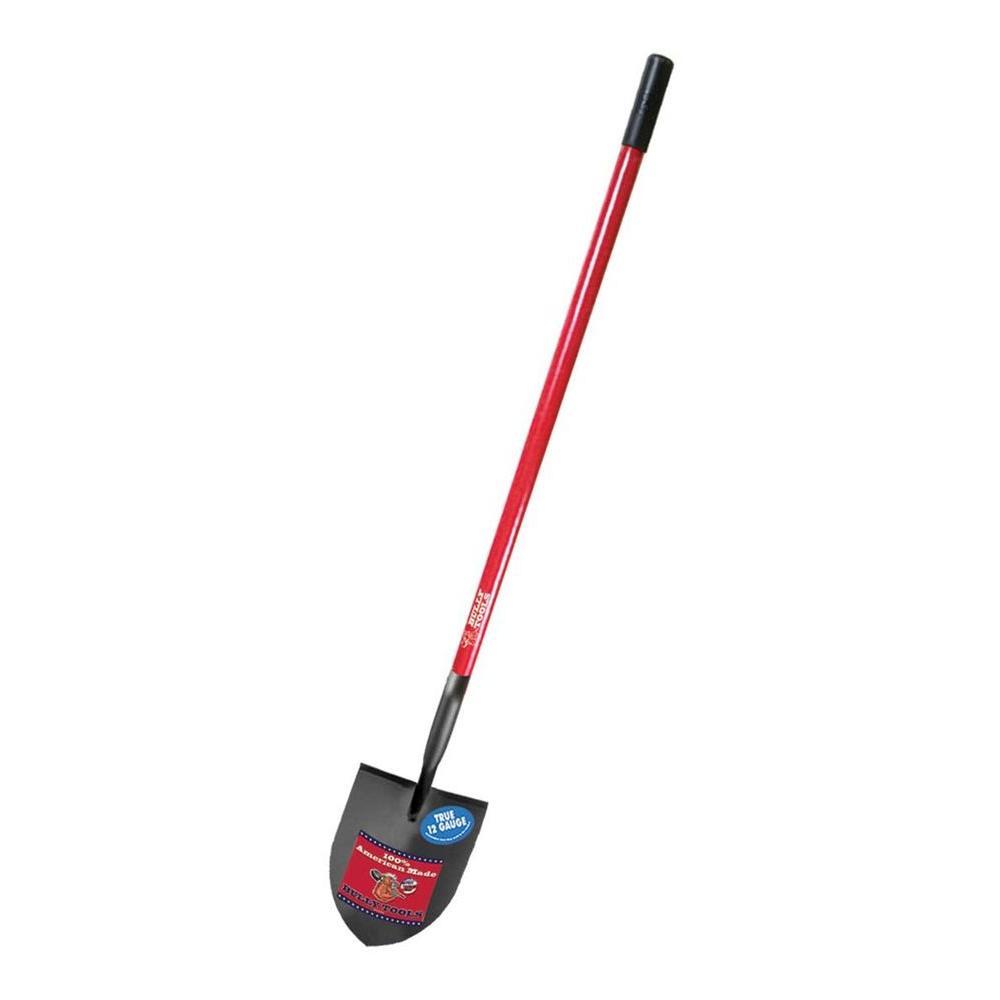 12-Gauge Irrigation Shovel with Fiberglass Long Handle
