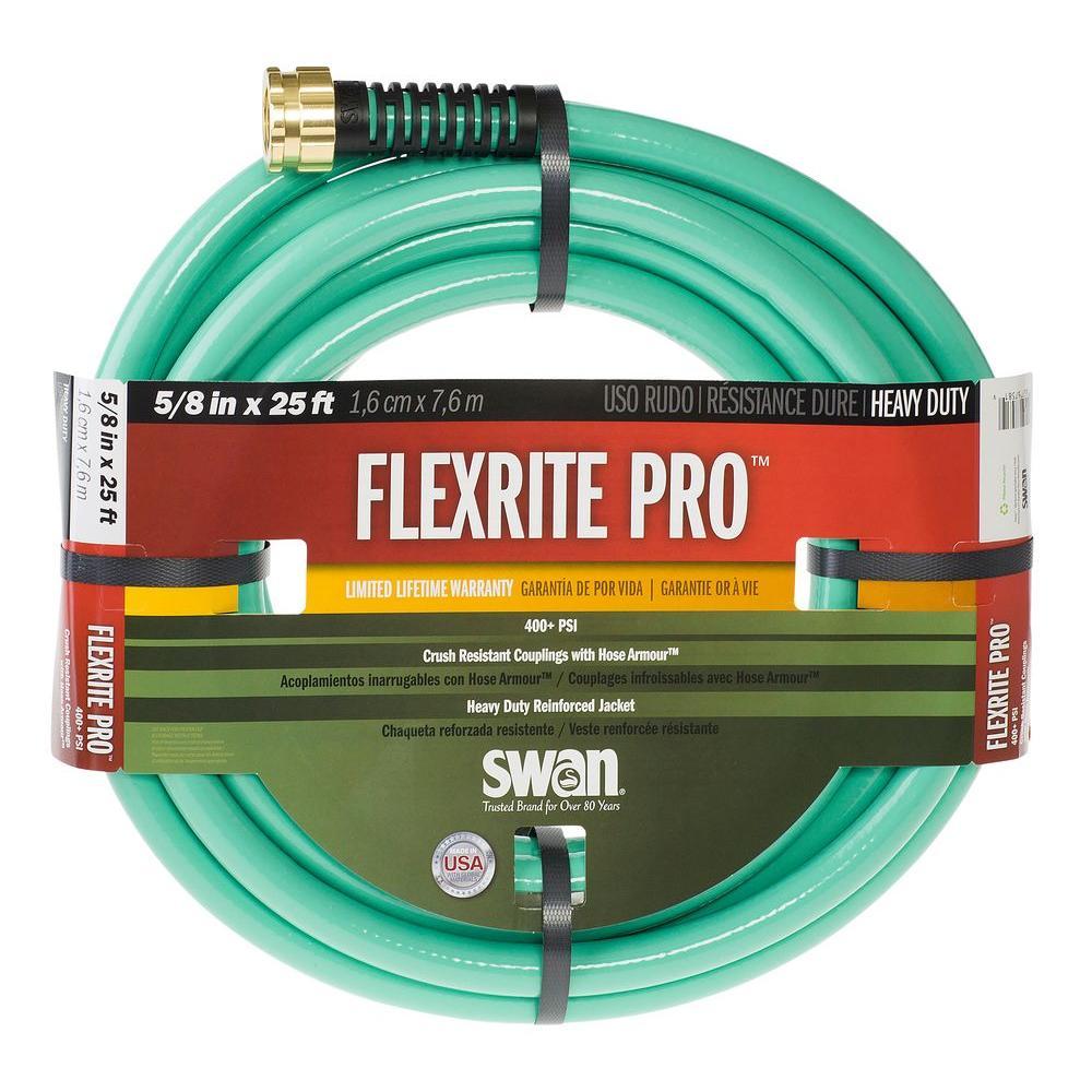FlexRITE Pro 5/8 in. Dia x 25 ft. Heavy Duty Water Hose