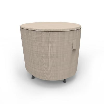 Rust-Oleum NeverWet Mojave Small Black Ivory Round Patio Table Cover