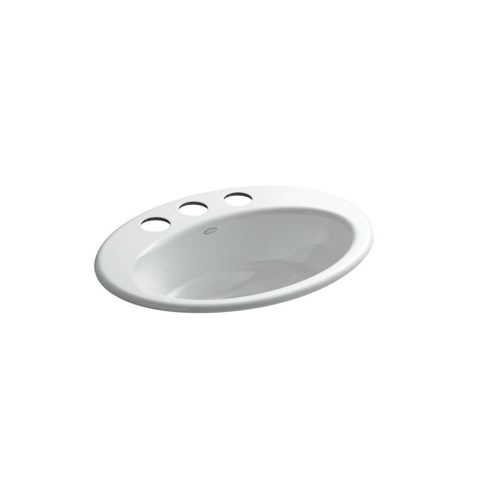 KOHLER Thoreau Undermount Bathroom Sink in Ice Grey-DISCONTINUED