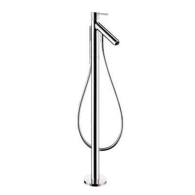 Starck 1-Handle Freestanding Deck-Mount Roman Tub Faucet Trim Kit in Chrome (Valve Not Included)