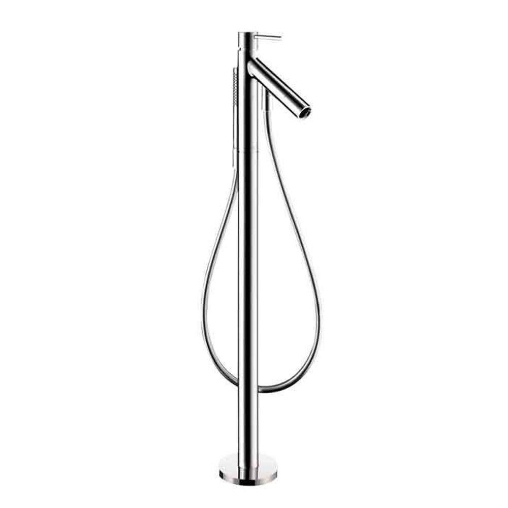 Starck 1-Handle Freestanding Deck-Mount Roman Tub Faucet Trim Kit in Chrome