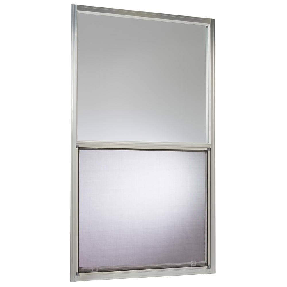 Mobile Home Single Hung Aluminum Window In White