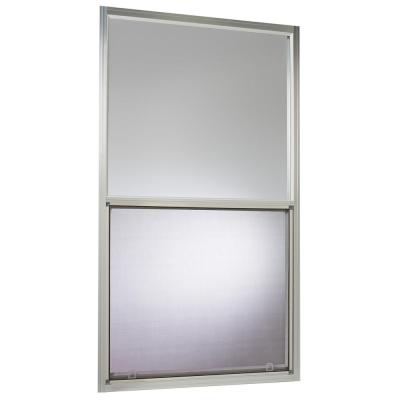 30 in. x 54 in. Mobile Home Single Hung Aluminum Window in White