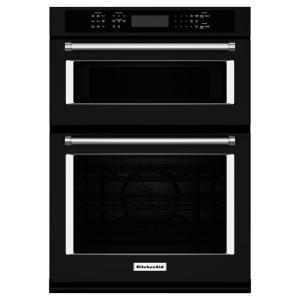 Electric Even Heat True Convection Wall Oven With Built In Microwave