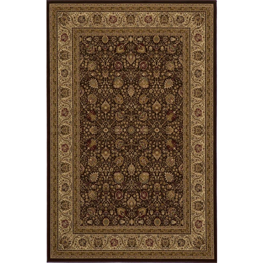 momeni lovely brown 11 ft 3 in x 15 ft area rug royalry 02brnb3f0 the home depot. Black Bedroom Furniture Sets. Home Design Ideas