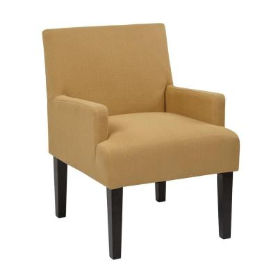 Main Street Wheat Fabric Arm Chair