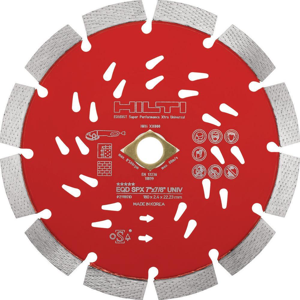 Hilti 12 inch x 1 inch Super Premium-X Universal Diamond Saw Blade