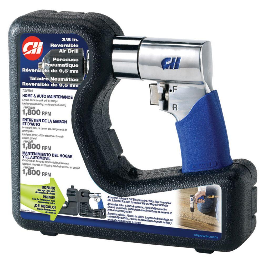 Campbell Hausfeld Grab N Go 3/8 in. Reversible Air Drill-DISCONTINUED