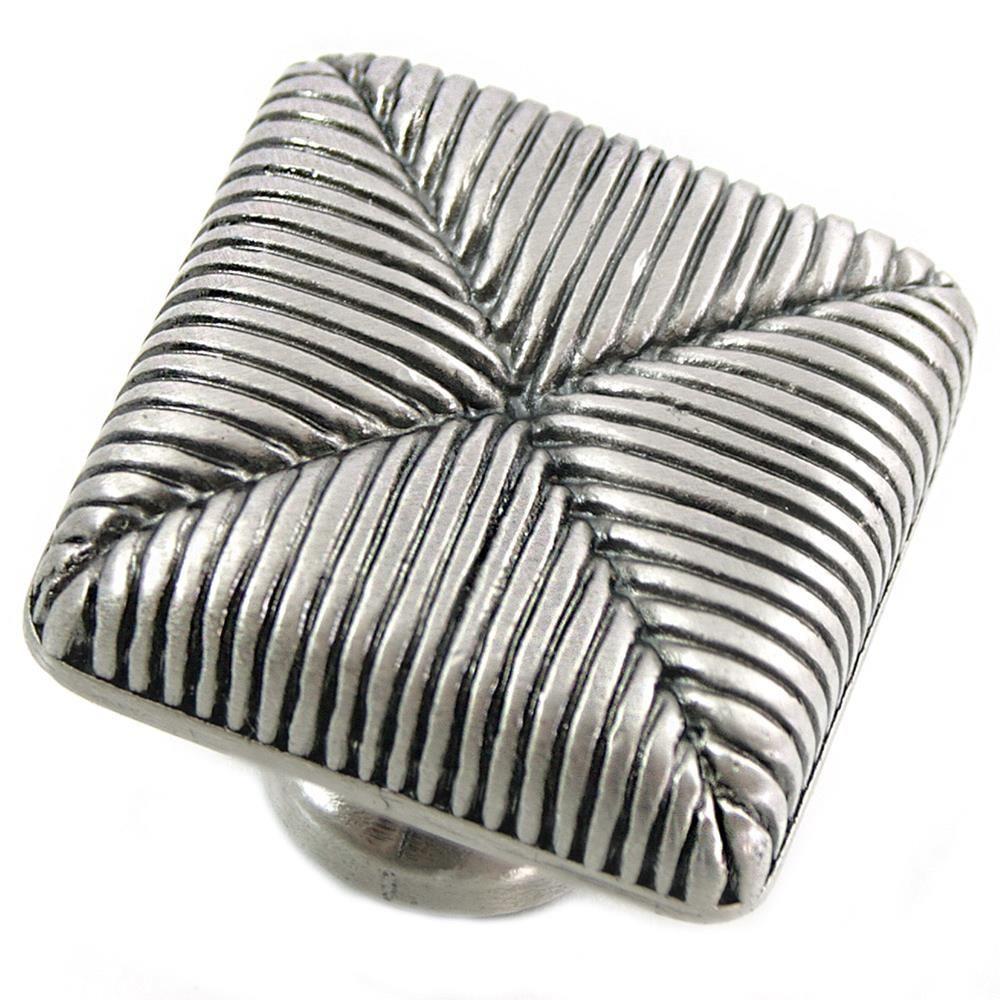 2 in. Satin Nickel Seat Cushion Knob