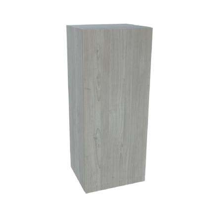 Ready to Assemble 15 in. x 42 in. x 12 in. Wall Cabinet in Grey Nordic Wood