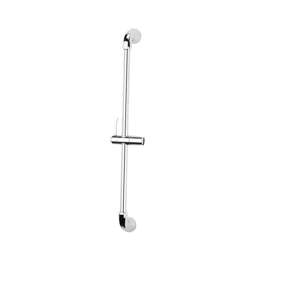 Arterra 31.5 in. Adjustable Shower Slide Bar in Polished Chrome
